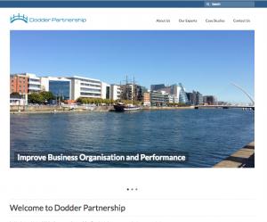 Dodder Partnership website development