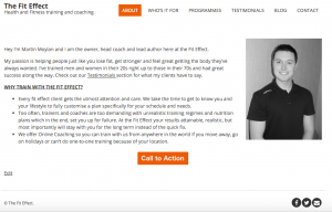 The Fit Effect Website