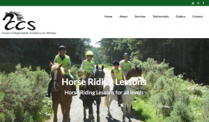 Website for Horse Riding School County Wicklow