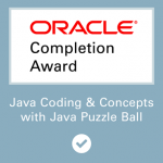 Java Puzzle Ball Game Oracle Course MOOC